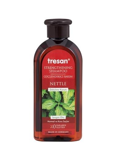 Tresan Tresan Dökülme Karşıtı Isırgan Otu Güçlendirici 300 ml Normal Ve Kuru Saçlar İçin Bakım Şampuanı Renksiz